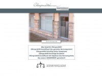 chiropraxis-holzhaeuser.de