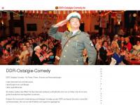 ddr-ostalgie-comedy.de Webseite Vorschau