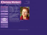 christa-weber.de Webseite Vorschau