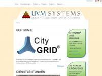uvmsystems.com Webseite Vorschau