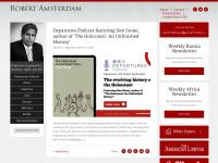 robertamsterdam.com Webseite Vorschau