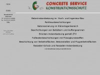 concrete-service.at