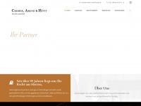 cremer-arend-hoett.de Webseite Vorschau
