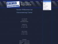 cremer-autoverwertung.de Webseite Vorschau