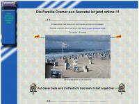 cremer-on.de Webseite Vorschau