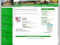 amt-friesack.de Webseite Vorschau