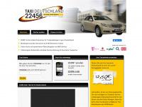 22456taxi.de Webseite Vorschau