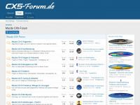 cx5-forum.de Webseite Vorschau
