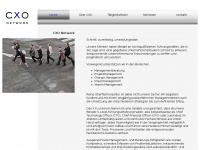 cxo-network.com Webseite Vorschau