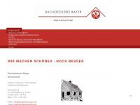 dachdeckerei-bayer.de