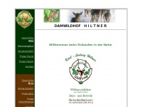 Damwildhof-hiltner.de