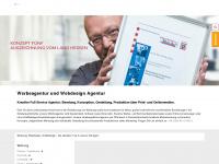 konzept-fuenf.de Webseite Vorschau