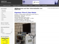 db0tuv.de Webseite Vorschau