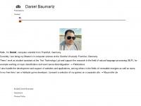 dbaumartz.de Webseite Vorschau