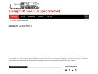 dbc-sprockhoevel.de Webseite Vorschau