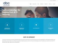 dbc.de Webseite Vorschau
