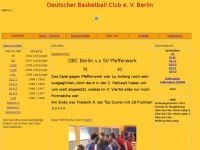 dbc-berlin.de Webseite Vorschau