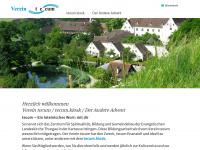 vereintecum.ch Webseite Vorschau