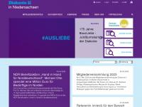 diakonie-in-niedersachsen.de Webseite Vorschau