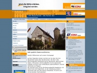 cdu-neuenstein.de Webseite Vorschau