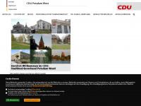 cdu-potsdam-west.de Webseite Vorschau