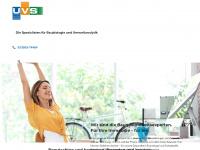 uvs.de Webseite Vorschau