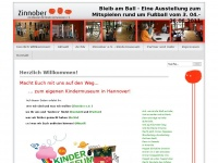 kindermuseum-hannover.de Webseite Vorschau