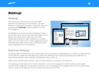 delirius.ch Webseite Vorschau