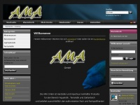 amagmbh.eu Webseite Vorschau