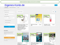 eigenes-konto.de Webseite Vorschau