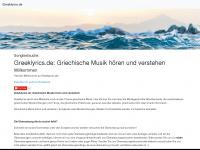 greeklyrics.de