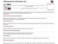 jvcomm.de Webseite Vorschau
