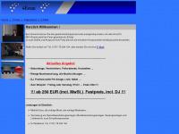 4-events.net Webseite Vorschau