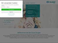 zuser.at Webseite Vorschau