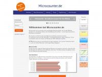 microcounter.de Webseite Vorschau