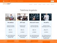 phonestar.ch Webseite Vorschau