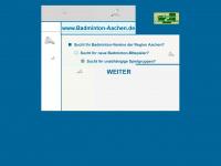 badminton-aachen.de Webseite Vorschau