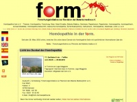 form-homoeopathie.de