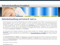 faltenbehandlungfrankfurt.de