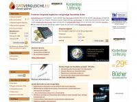 gasvergleiche.eu Webseite Vorschau
