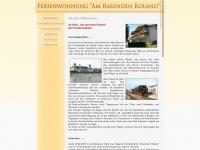 amrasendenroland.de Webseite Vorschau