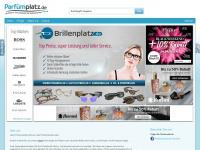 parfuemplatz.de Webseite Vorschau