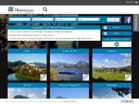 1a-ferienagentur.de Webseite Vorschau