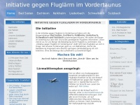 fluglaerm-vordertaunus.de