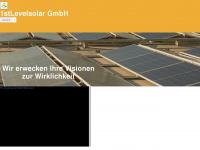 1stlevelsolar.com Webseite Vorschau