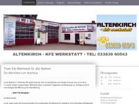 kfz freie kfz werkstatt kfz altenkirch bensdorf. Black Bedroom Furniture Sets. Home Design Ideas