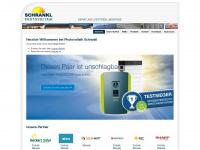 photovoltaik-schrankl.de Webseite Vorschau