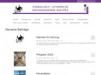 toelz-evangelisch.de Webseite Vorschau
