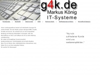 g4k.de Webseite Vorschau