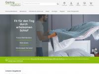 gailing-schlafkultur.de Webseite Vorschau